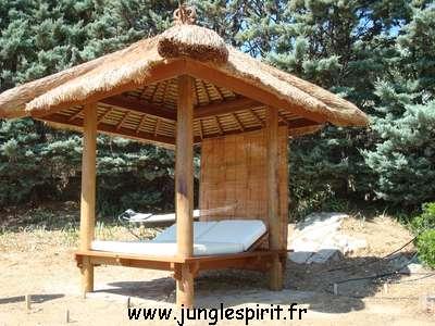 jungle spirit gazebos paillotes meubles et d coration. Black Bedroom Furniture Sets. Home Design Ideas