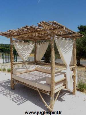 jungle spirit gazebos paillotes meubles et d coration. Black Bedroom Furniture Sets. Home Design Ideas